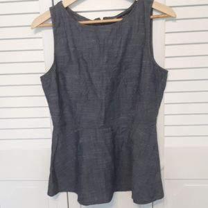 Banana Republic sleeveless blouse. Size 8